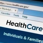 Healthcare.gov website for Section 508