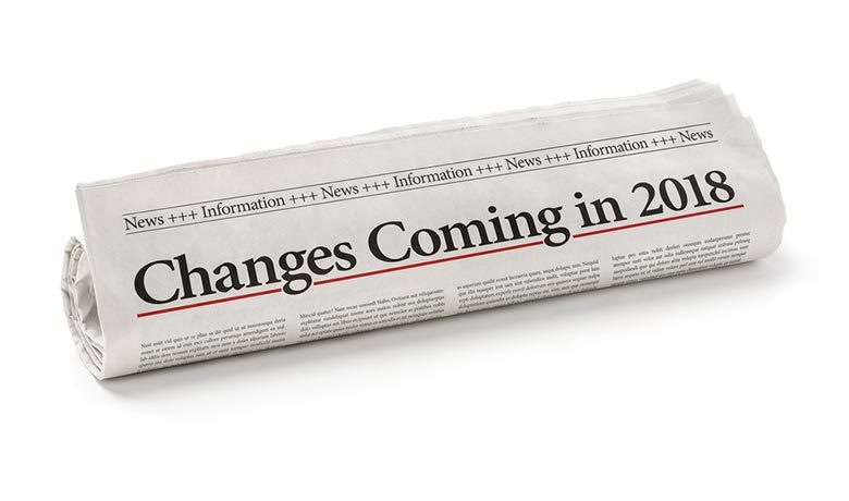 newspaper title announcing WCAG 2.1