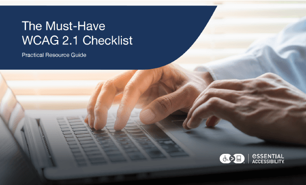Must-Have WCAG 2.1 Checklist