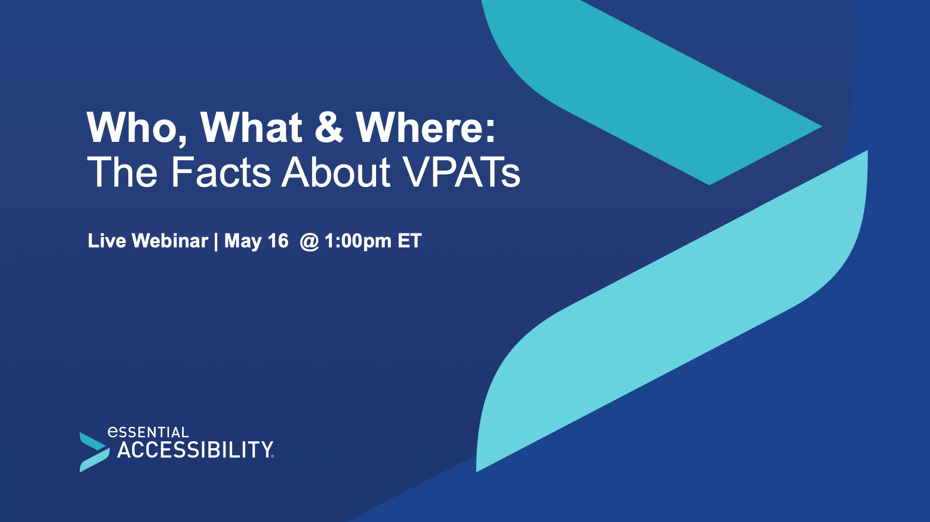 Who, What and Where: The Facts about VPATs