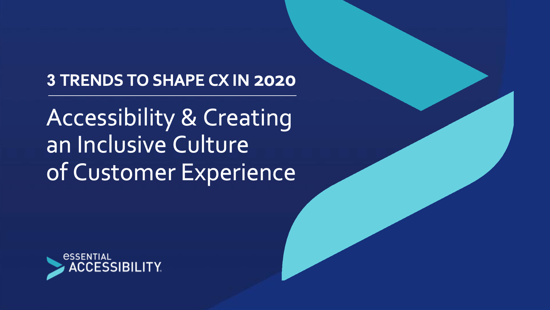 3 trends to shape cx