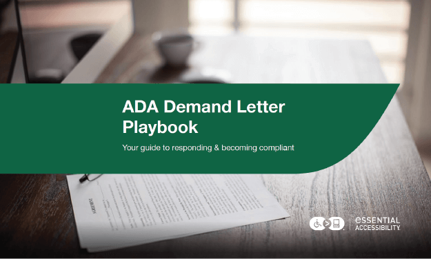ADA Demand Letter