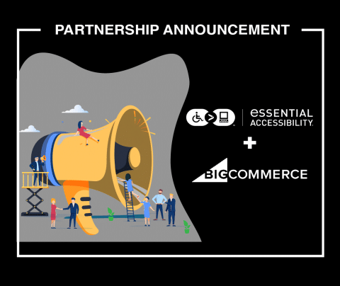 Partnership announcement between eA and BigCommerce